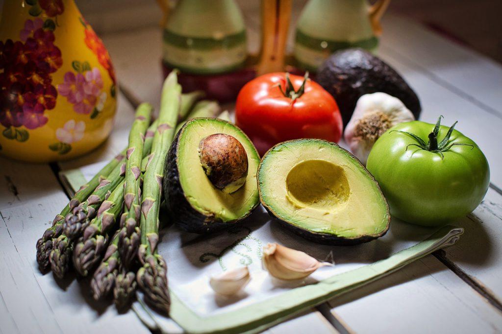 a mediterrán étrend zöldségei